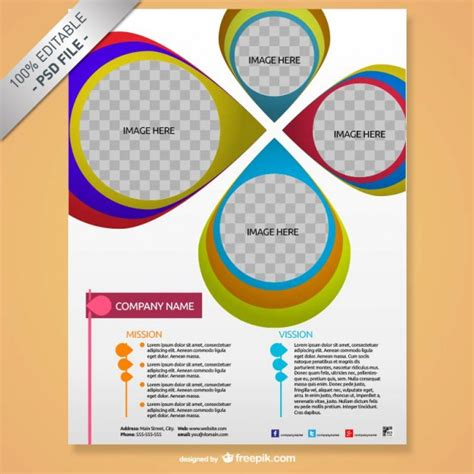 Free Templates For Brochure Design Psd by Brochure Mock Up Creative Design Psd File Free