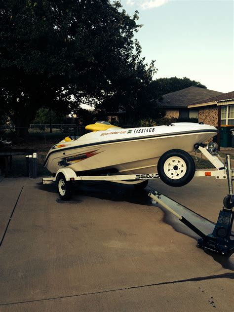 Sea Doo Jet Boat Hull by Seadoo Sportster Jet Boat 2003 For Sale For 6 995 Boats