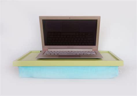 Aqua Pillow Ipad Desk Or Laptop Lap Desk Light Green