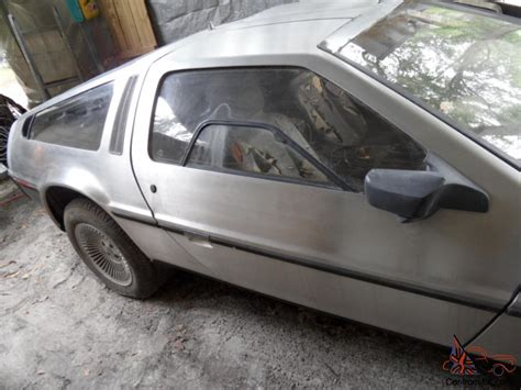 Project For Sale by 1981 Delorean Project Car