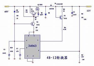 48v U8f93 U516512v U8f93 U51fa U7684 U76f4 U6d41 U964d U538b U7535 U8def -  U5d4c U5165 U5f0f U7c7b U7535 U5b50 U7535 U8def U56fe