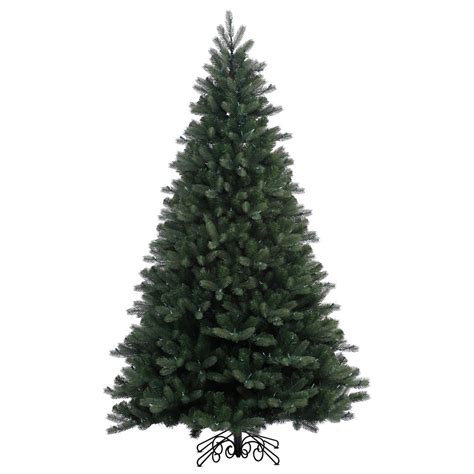 Unlit Artificial Christmas Trees Canada by 7 5 Noble Spruce Artificial Christmas Tree No Lights