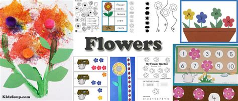 parts of a flower science exploration for preschool and 734 | Flowers activities preschool 1