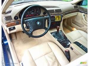 Sand Interior 2000 BMW 7 Series 740iL Sedan Photo