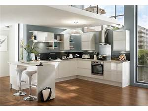 cuisine moderne en u With photo de cuisine design