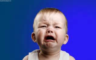 Funny Crying Baby Face