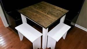 Small Farmhouse Table Build - Diy