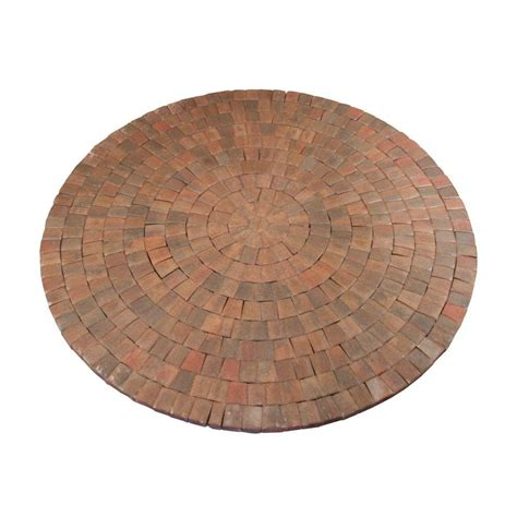 anchor 9 ft x 9 in autumn blend cobble concrete