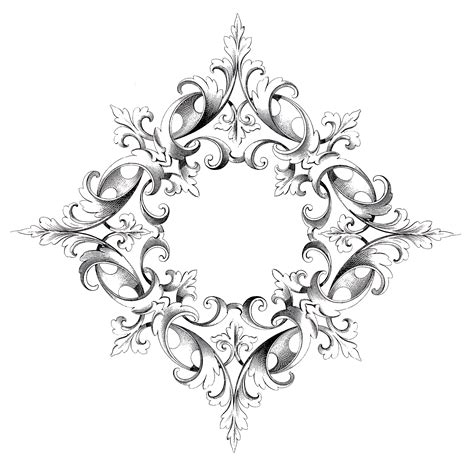 spectacular scroll frame image  graphics fairy