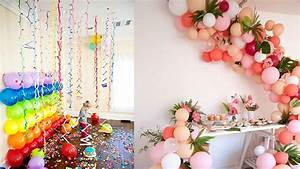 How To Decorate Room For Birthday Party! Cute Decor Snacks
