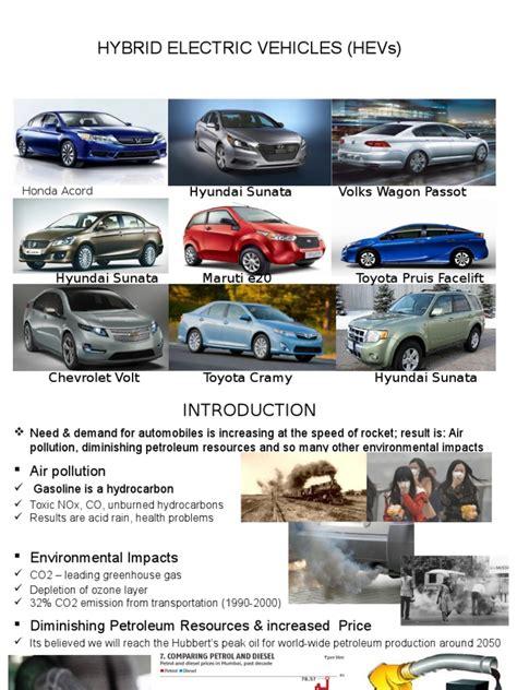 Hybrid Electric Vehicles (HEVs) | Hybrid Electric Vehicle ...