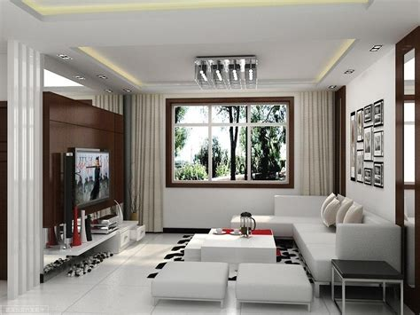 Amazing Of Simple Attactive Modern Small Living Space Ide