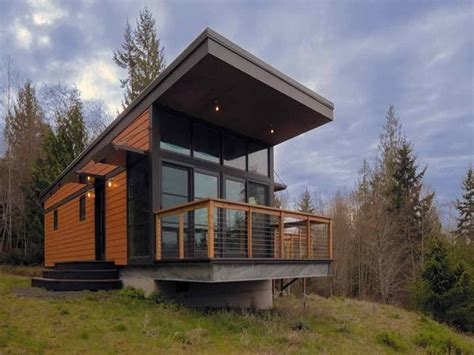 traditional  prefab modern cabin  method homes builder  modern green sustainable