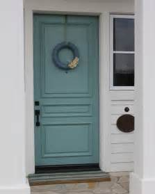 Front Door Sherwin-Williams Drizzle Color