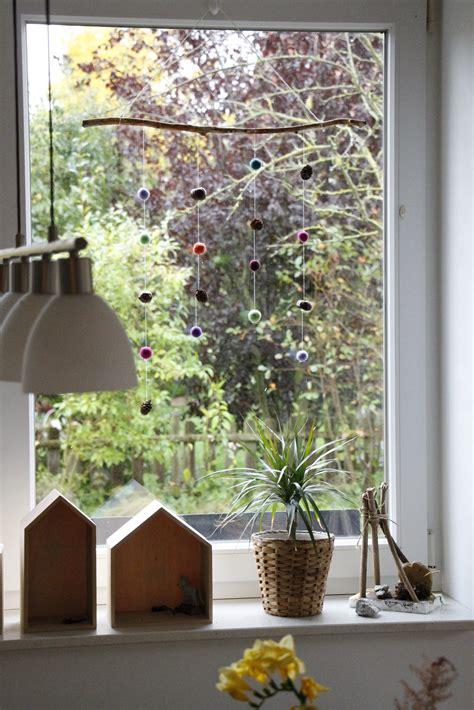 Herbstdeko Für Das Fenster by Bastelidee Herbst Fenster Lavendelblog