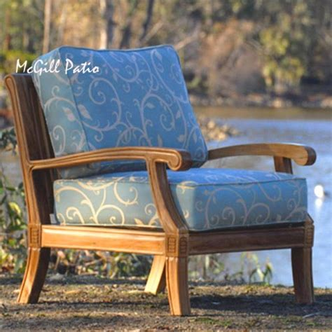 quot royal quot teak seating outdoor lounge chair