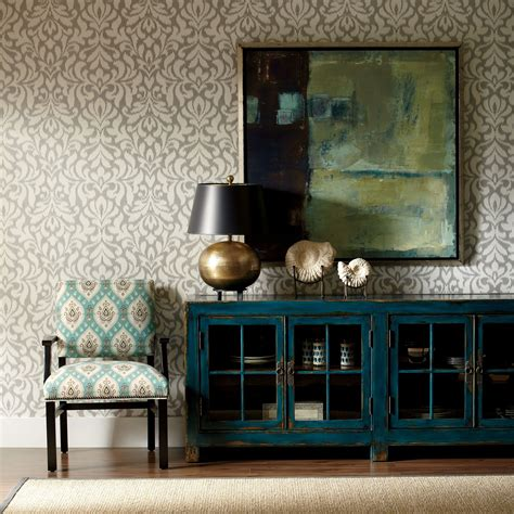 ming media cabinet  color turquoise decor