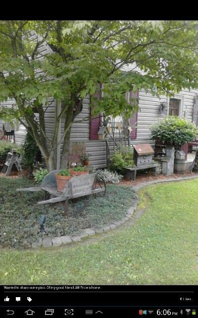 Like This Landscaping Gardening Garden Primitive