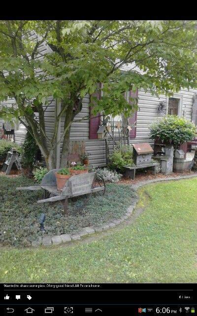 Like This Landscaping Gardening Garden Primitive