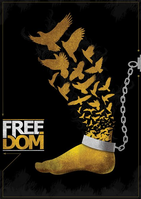 Freedom Poster on Behance