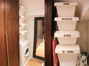 Bac A Linge Ikea : diy organiser son linge sale mini buanderie monday deco bac ikea et organisation ~ Teatrodelosmanantiales.com Idées de Décoration