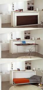 Kinderzimmer Kleiner Raum : the poppi desk is a space saving modern murphy bed that features a fold down desk poppi desk ~ Sanjose-hotels-ca.com Haus und Dekorationen