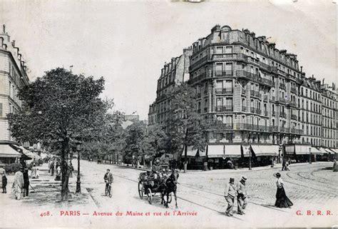 avenue du maine montparnasse file ca 1900 rue de l arivee avenue du maine montparnasse jpg wikimedia commons