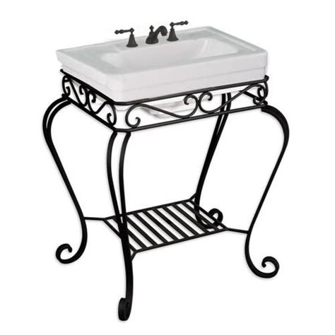 wrought iron sink stand wrought iron sink stand bathroom ideas pinterest