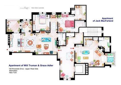 floor plans  apartment  famous tv shows home