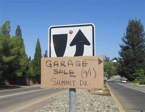 Garage Sales Rocklin Ca by Information On Garage Sales And Signs In Rocklin City Of
