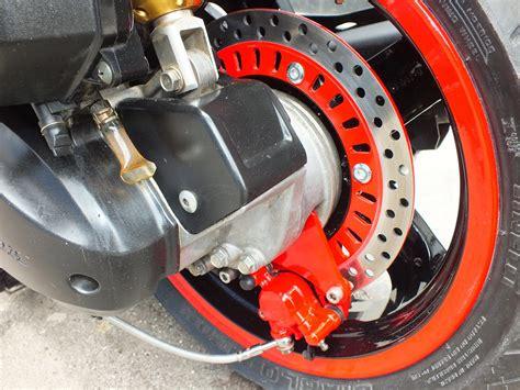 modifikasi cakram belakang vario 110 motor vario