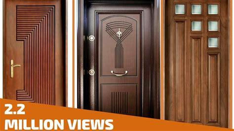 Wooden Door by Top 35 Modern Wooden Door Designs For Home 2018 Plan N