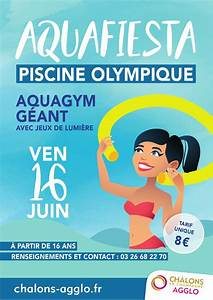 aquafiesta a chalons en champagne With piscine olympique chalons en champagne 11 cos51