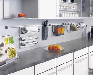 Relingsystem kuche holz kreative deko ideen und for Relingsystem küche