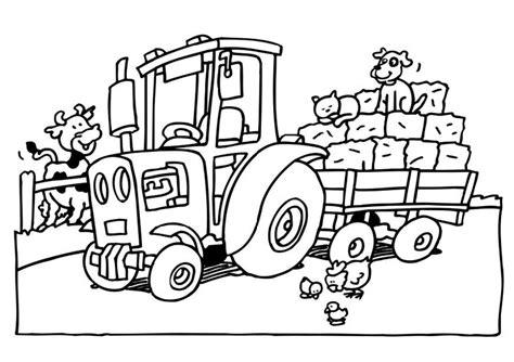 Afbeelding Tractor Kleurplaat by Kleurplaat Tractor Afb 8232 Images