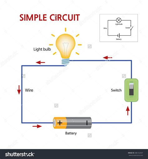 Simple Dark Activated Lamp Circuit Diagram Wire Motion