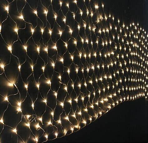 kmashi net lights 3mx2m 204 led mesh fishing net string