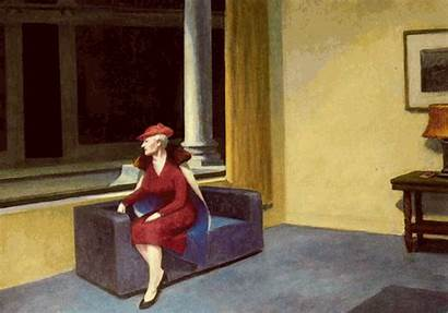 Hopper Edward Obras Window Paintings Sun Pintores