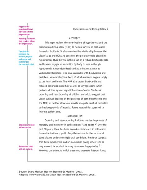 Turabian Template For A Paper by Exle Turabian Research Paper Turabian Citation Guide