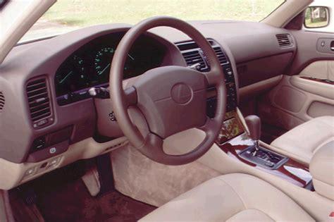 lexus ls400 interior 1995 00 lexus ls 400 consumer guide auto