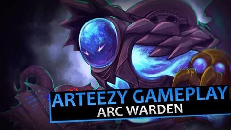 arteezy arc warden gameplay  dota   youtube