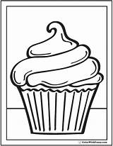 Coloring Cupcake Pages Cupcakes Printables Print Pdf Clipart Swirl Adult Drawing Printable Colouring Cup Template Birthday Preschool Sheets Cakes Party sketch template