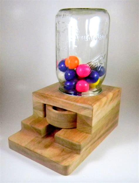 gumball dispenser wooden candy machine handmade gifts