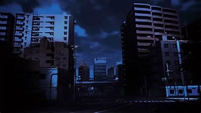 Aesthetic Anime Night Scenery Wattpad Sky Windows