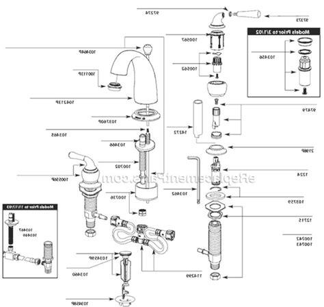 Glacier Bay Tub Faucets by Glacier Bay Kitchen Faucet Parts Kenangorgun Com