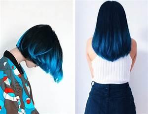 Tie And Dye Marron : zoom sur la coloration tendance tie and dye bleu astuces et visions inspirantes obsigen ~ Melissatoandfro.com Idées de Décoration