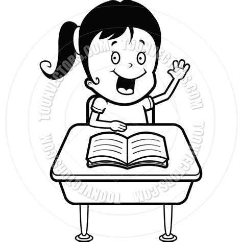 14692 student clipart black and white student at desk clip black and white www imgkid