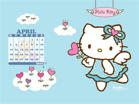 Hello Kitty Spring Wallpapers