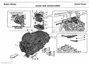 Ferrari 458 Italia Gearbox