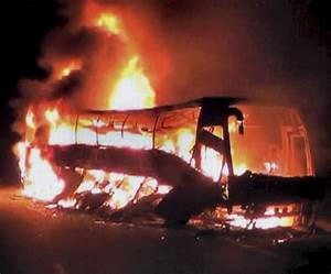PHOTOS: 44 burnt alive as passenger bus catches fire in ...
